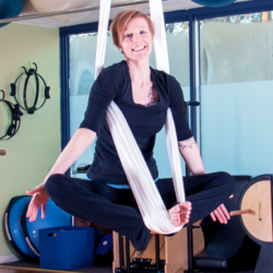 May Newsletter:  Aerial Yoga + 1st Year Anniversary Party Invitation!
