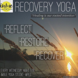 Recovery Yoga – Fridays at 6pm