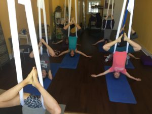 Aerial Yoga at Imbue Yoga in Minneapolis