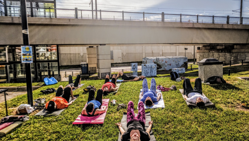 Early July Newsletter: Holiday Closure,  Yoga Tone & another Aerial workshop!