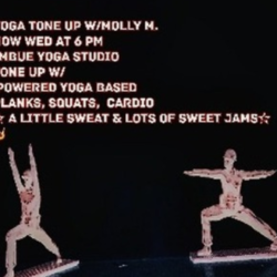 Yoga Tone – Wednesdays 6pm