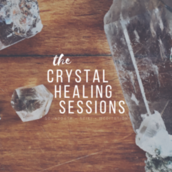 Crystal Healing Session: Soundbath + Reiki Meditation Saturday, March 31st 6:30pm