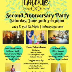 Imbue Yoga Anniversary Party!