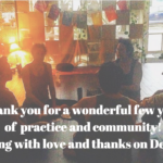 Thank you,  dear ones!  Imbue Yoga Studio to close, with love, on December 31st
